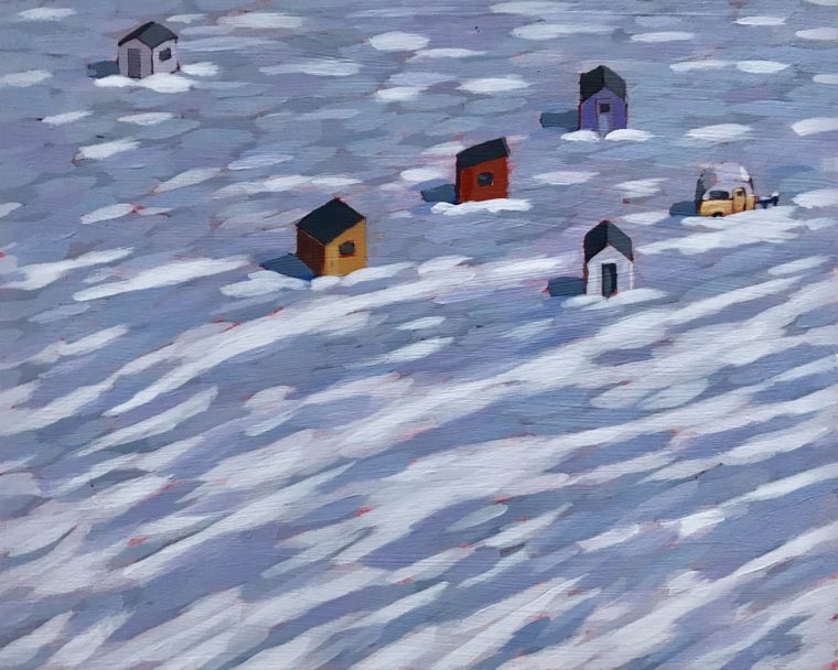Huts on Ice no. 9