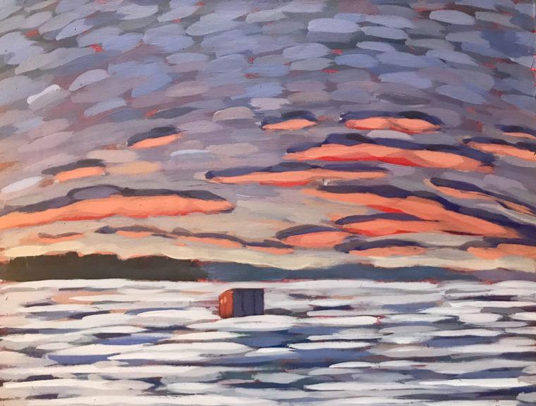 Single Ice Hut by Luke Despatie
