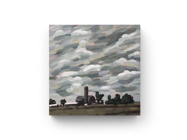 Stormy Evening on Dale Rd by Luke Despatie